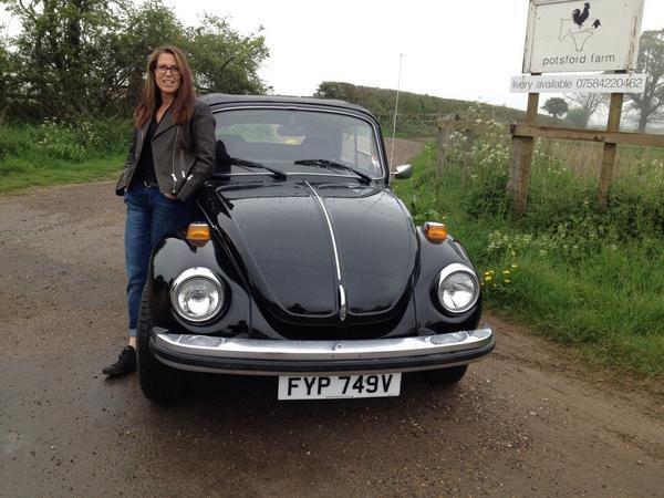 Stolen VW Beetle. South London, Have you seen? Please RT @johnsonbanks £250 reward http://t.co/r2Mw5bAF9o http://t.co/kqF9ENEqCQ