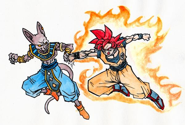 Super Sean On Twitter Dragon Ball Z Doodle Of Gods