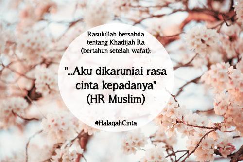 Cara Khadijah Mencintai Rasulullah Yang Dapat Kita Pelajari