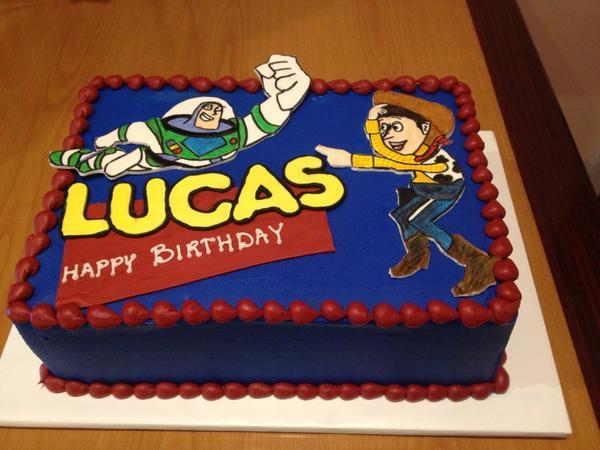 Village Bake Shoppe On Twitter Toy Story Birthday Cake Happy