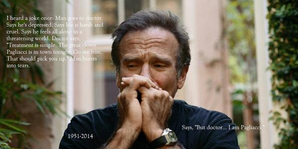 I wish more people understood that depression is an insidious cancer of the spirit/soul #RobinWilliams Be kind, folks http://t.co/2b0rRl9v9c