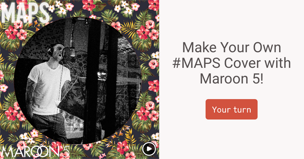 """@maroon5: Make Your Own #maps Cover! http://t.co/U1GLxuXQWc #MAPS #MaroonVUrturn #urturn http://t.co/OtGAI8T94q"""