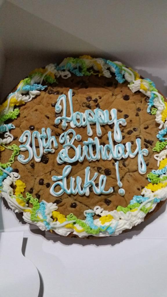 Terrific Jeremy Miller On Twitter Was In Publix To Garb A Cookie Cake And Funny Birthday Cards Online Fluifree Goldxyz