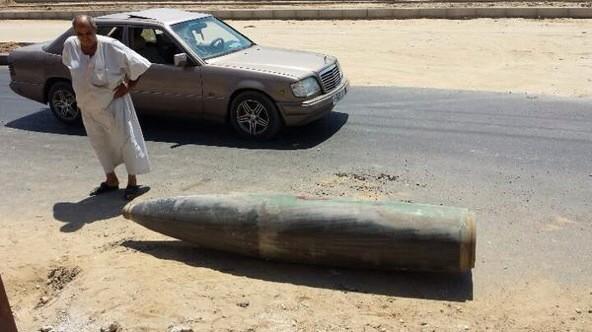 Unexploded bomb dropped on Deir el Balah reveals the size of munitions Israel using. Pic via @el_pais jorno @gomez_jn http://t.co/dcnWjwdmDm