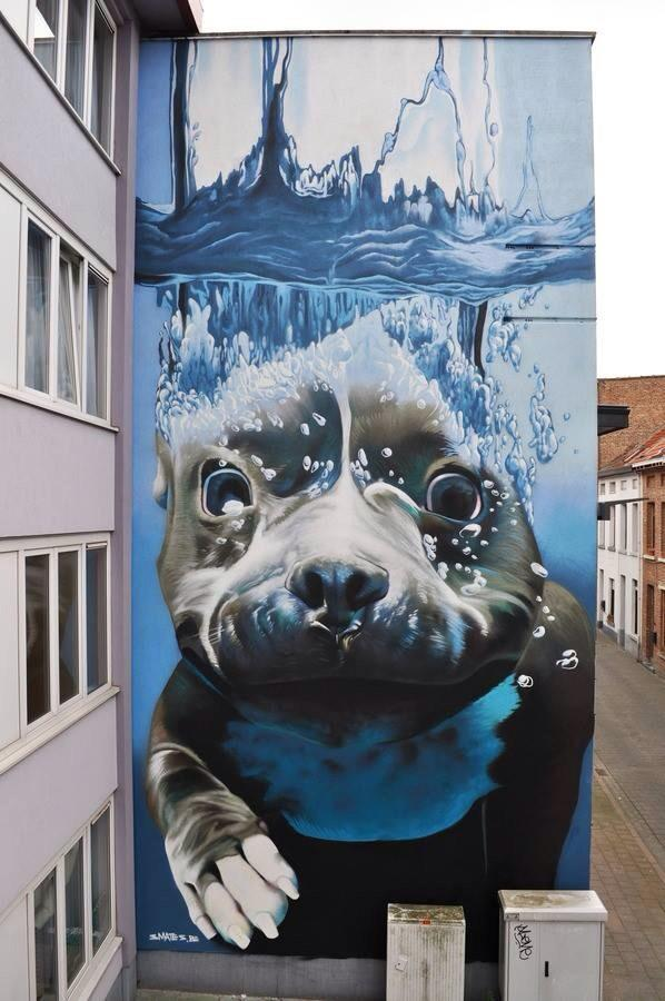 les plus beaux Street Art  - Page 2 BuA6DrdIAAA5EEm