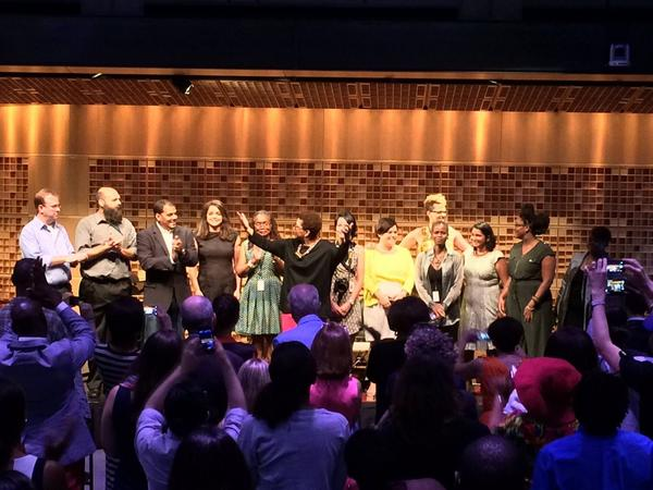 Tell Me More staff @NPR Studio 1 Friday August 1, 2014 & a standing ovation :-) #NPRMichel http://t.co/ABW4JlxjjB