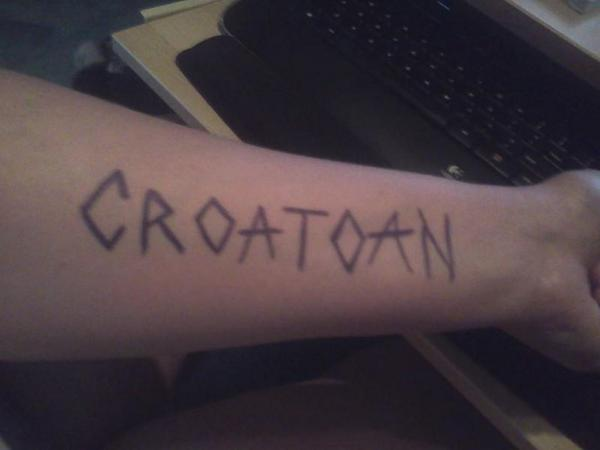 Spent yesterday out searching for croats. Didn't find any, not sure if I should be relieved, or bummed. #CroatoanDay http://t.co/6vtwRXysYw