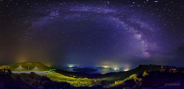 今夜は伝統的七夕の夜。この旧暦7/7の夜には毎年決まって舟の形をした月が浮かび、頭上には天の川が。写真は昨夜撮影した北海道の天の川です。 pic.twitter.com/Jr0gMRgZj9