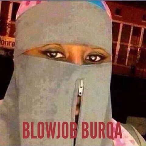 Blow job burka