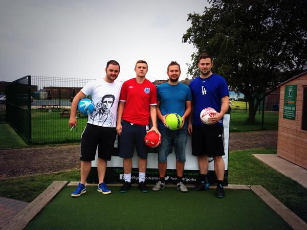 Footgolf Hull.