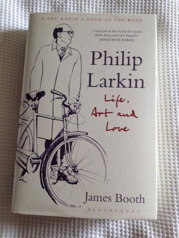 Thank you so much @sophiechristoph for this early copy of the new Larkin bio. About time A. Motion one was challenged http://t.co/Rkq8Z3gZXo