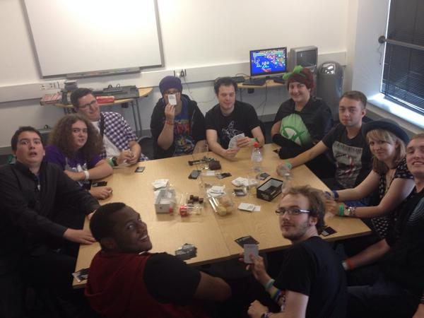 """Chris-mas Beadle on Twitter: """"@TopherBeadle: @RvBUK @RoosterTeeth You can never have too much #CardsAgainstHumanity #RvBUK Day 2 http://t.co/szizYdrzKx"""""""