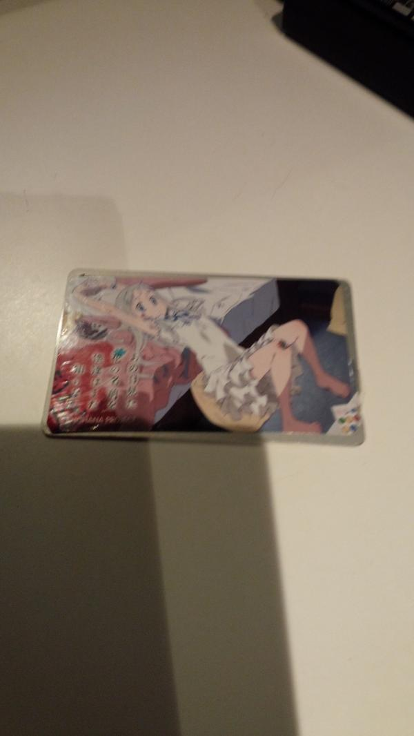 【拡散希望】新宿歌舞伎町のドンキ前であの花のICステッカーが貼ってある電子カードを拾いました。届ける時間が無かったのでまだ手元にあります。心当たりがある方は電子カードの種類と残高を記載の上当方までリプ下さい\( •̀ω•́ )/ http://t.co/6ckJC5xk1G