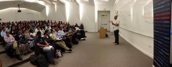 Packed house. I could get used to more Saturdays like this. @JIMSEDU inspiring our Data Jammers. #MyBrothersKeeper http://t.co/vSSBHGbolx
