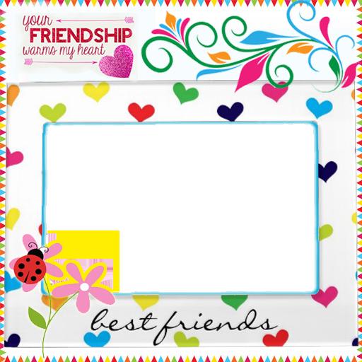 personalized friendship frames extra image 1 extra image 2 ...
