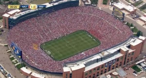 Sam On Twitter 109 000 Fans In Michigan To See Real Madrid Man