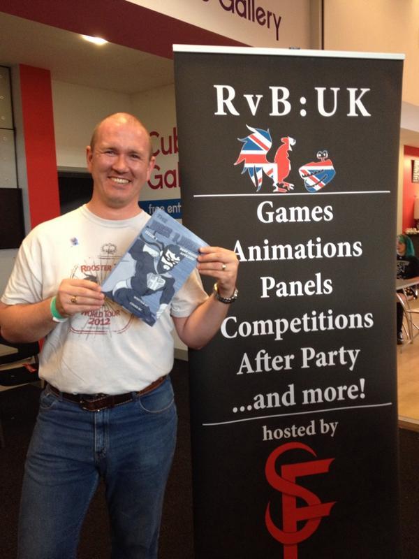 "Chris-mas Beadle on Twitter: ""@JayOrDan23 @burnie Awesome haul of swag at the #RvBUK charity raffle! #TheHorsePuncher http://t.co/BTnhEVgjj5"""