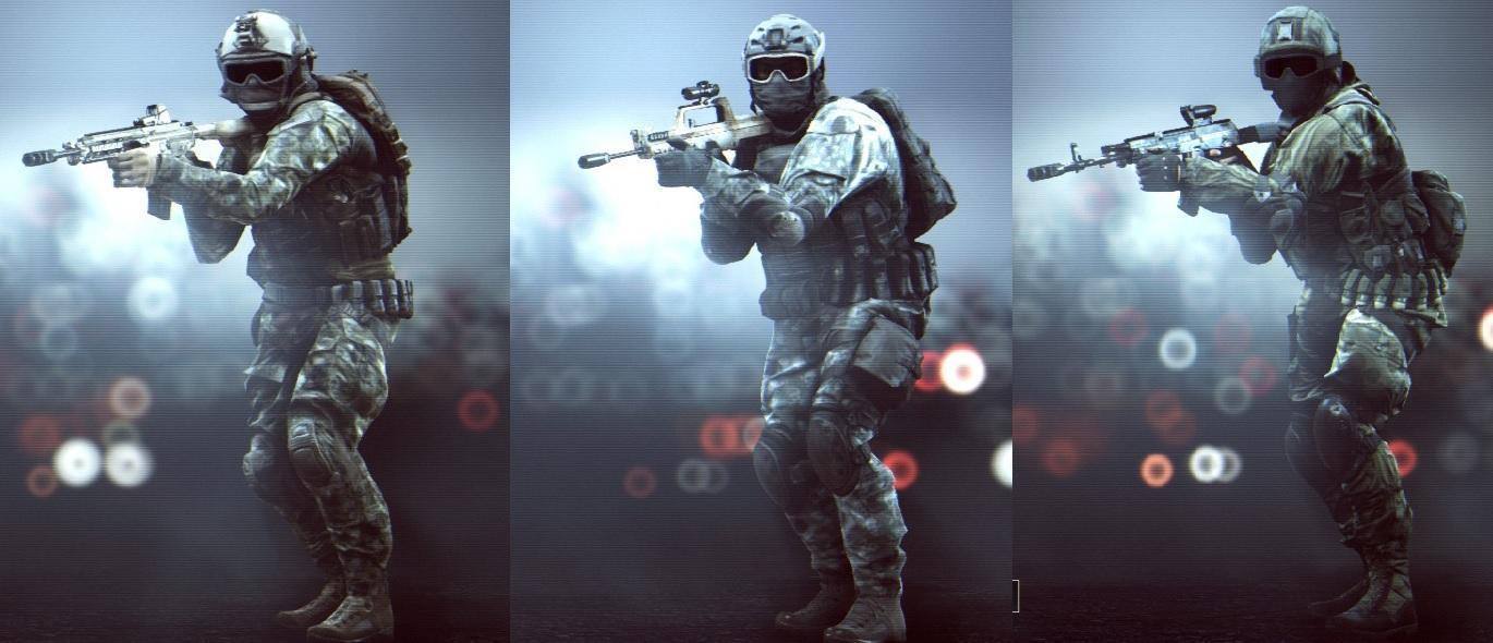 Bf4 Soldier Camos Camo in Assault Soldier