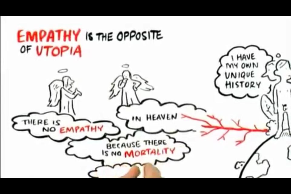 pawel meinster on empathy the opposite of utopia  pawel meinster on empathy the opposite of utopia there s no empathy in heaven because there s no mortality t co lwbclbpdm8