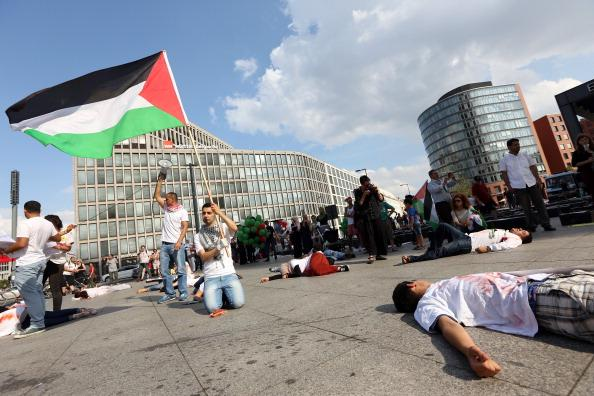 In solidarity with our beloved #GazaUnderAttack from #BERLIN , #GERMANY http://t.co/OG7rqAt67r
