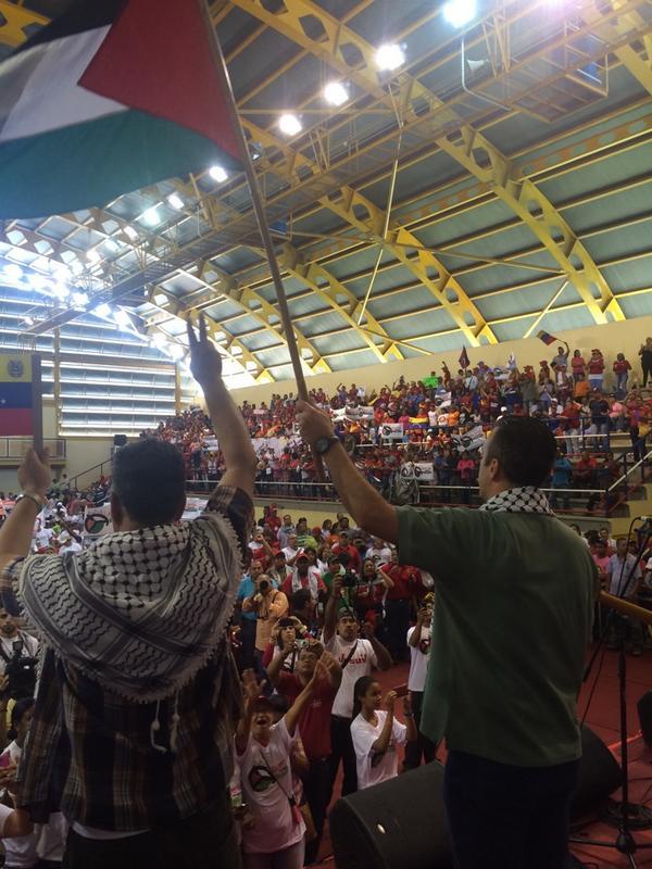 @TareckPSUV Sólo un Chávez en los países Árabes evitaría lo que hoy está viviendo el pueblo de palestina! http://t.co/bDzjsLhb3V