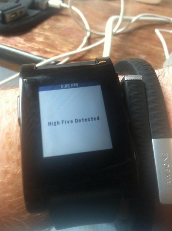 @rrhoover @NikkiElizDemere @Everette You need the @pebble app I'm working on at #YCHacks http://t.co/KLgJYMfGUH