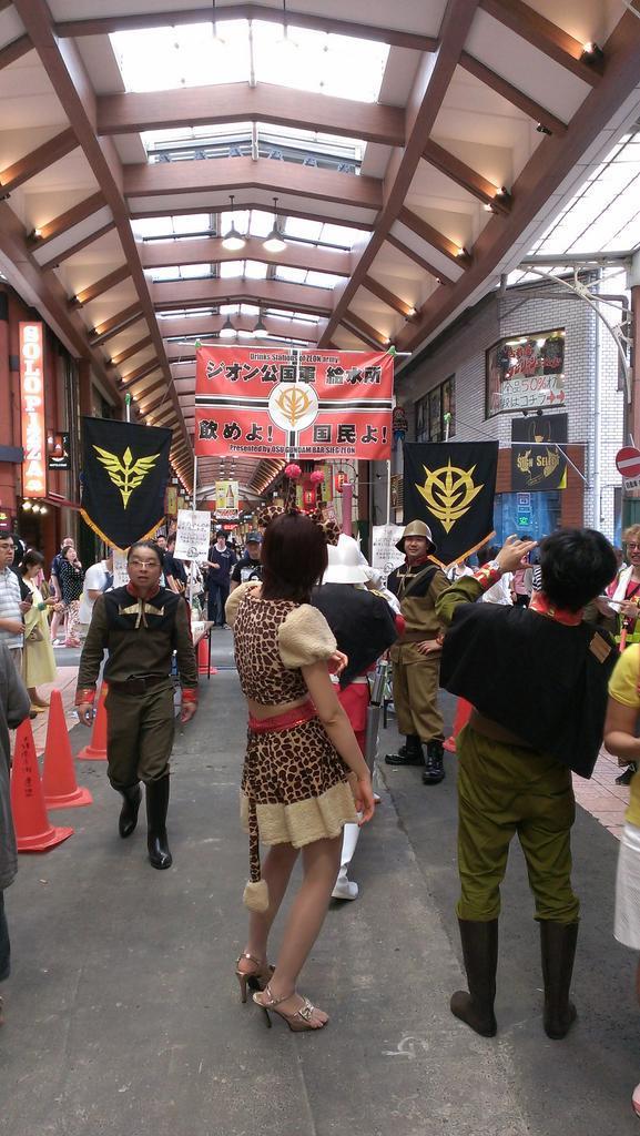 大須コスプレパレードの給水所でお待ちしてますね。 #大須 http://t.co/kKFsNE5inL