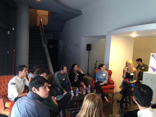 art and technology talk now #URLmeetsIRL http://t.co/OcCmjDgt7G