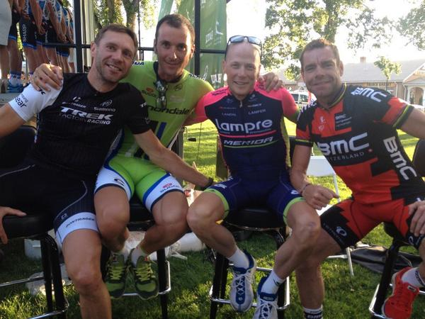"""@thejensie: Love that pic. @hornerakg  @ivanbasso  @CadelOfficial and myself. http://t.co/3pkB5aueEg"" Great pic!"