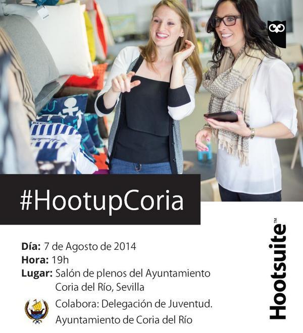 """El Ayto de Coria colabora en la difusión de las rrss entre empresas y profesionales acogiendo un """"Hootup"""" gratuito http://t.co/YaUTmOZYVo"""