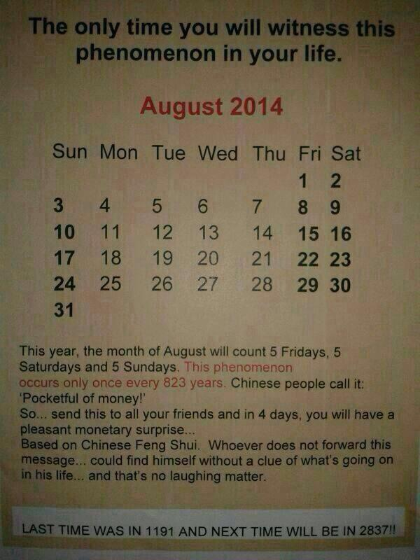 Cool! This August is very special! http://t.co/acWapw2UdR