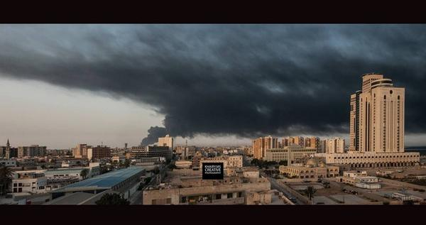 #Tripoli has seen better days. RT @hythemelghoul: It's more of a Gotham city, They sucked its life.  #TripoliOnFire http://t.co/no2a0JmT6r