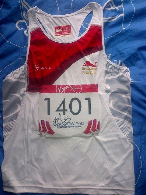 COMEPTITION TIME: I'm giving away my #TeamEngland Vest & signed number To win simply RT/FAV & winner announced Mon! http://t.co/E1hgNTJ6lE