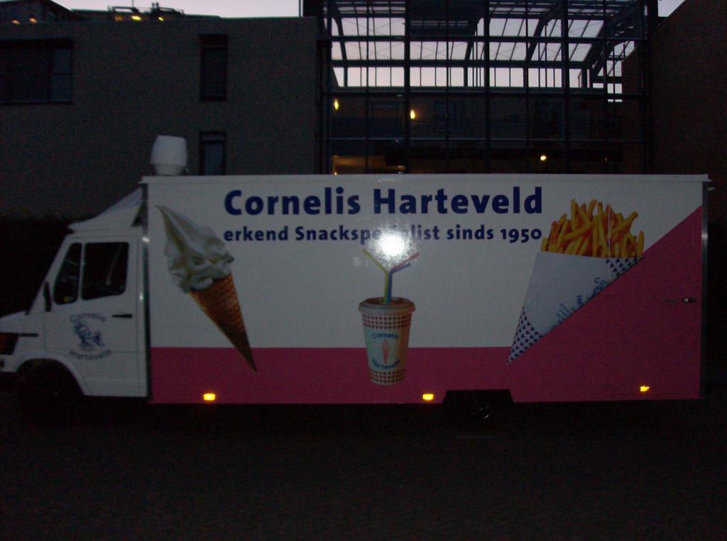 Complete snackwagen gestolen in Maassluis