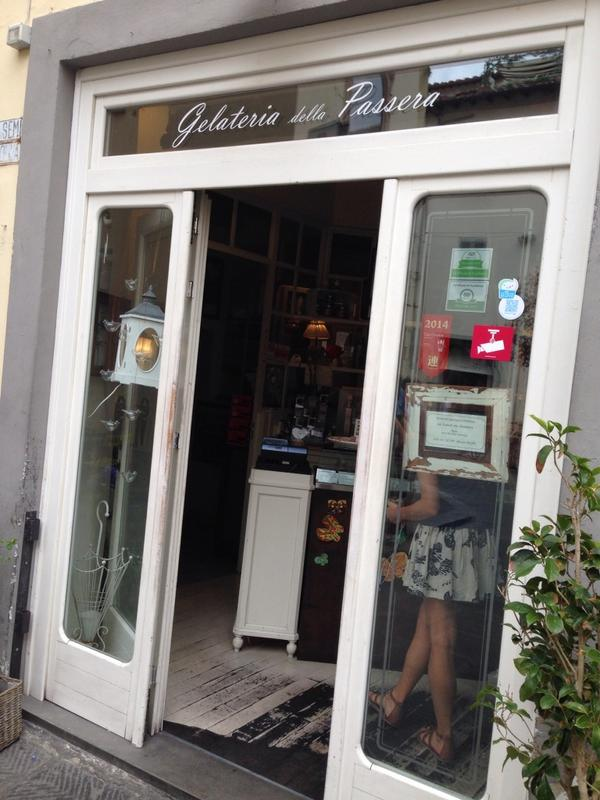 Contest for best #gelato in #Florence was btw Vivoli, La Carraia, & La Gelateria della Passera. Hands down-last best. http://t.co/qAa58wTpP7