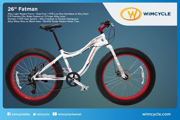 Wimcycle On Twitter Fatman Bike Sepeda Dengan Ban Terbesar