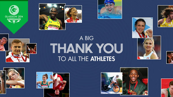They've made the last 11 days incredible – RT to join us in saying 'thank you' to the athletes! http://t.co/Ill5Mrx09J