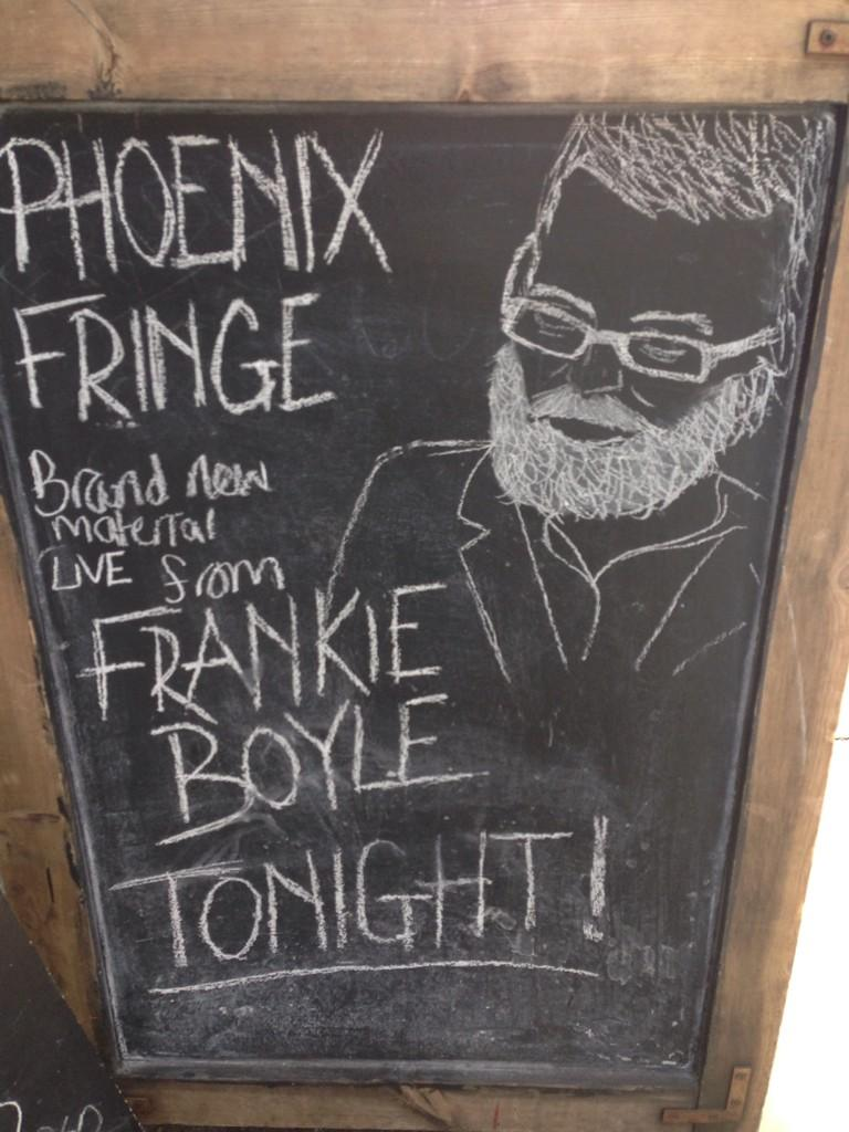 RT @TiernanDouieb: Come perform @Phoenix_Fringe and have a chalk portrait made of you so you look like a Yewtree suspect. @frankieboyle htt…