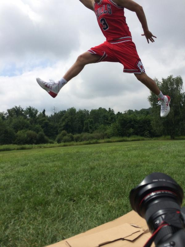 McBuckets got bounce?!? @dougmcd3 #NBARooks http://t.co/jEmgSOkg7W