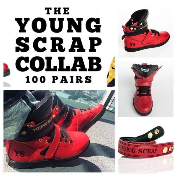 @YoungScrap @HeydayFootwear bring the heat 100 exclusive pairs. Buy direct from the designer http://t.co/iAKZAeyNNi http://t.co/KaiA0OSHqk