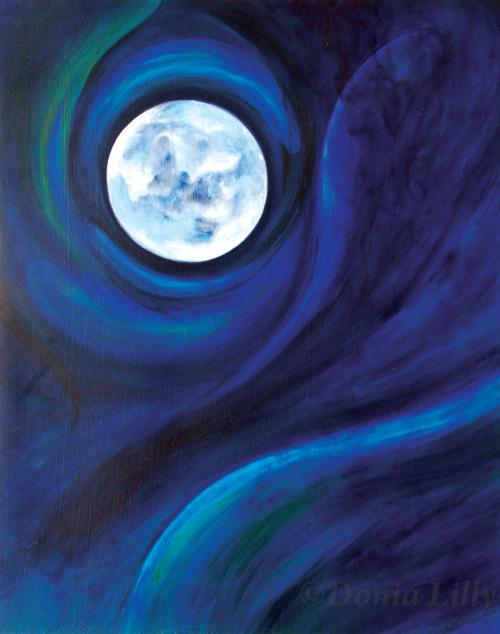 paintings of two moons - photo #40