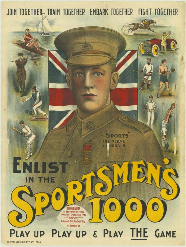On 4 August 1914, Australia entered WWI. More than 112,000 Victorians enlisted to serve http://t.co/LhqkuQ4UN9 http://t.co/kfv6zYfrUo