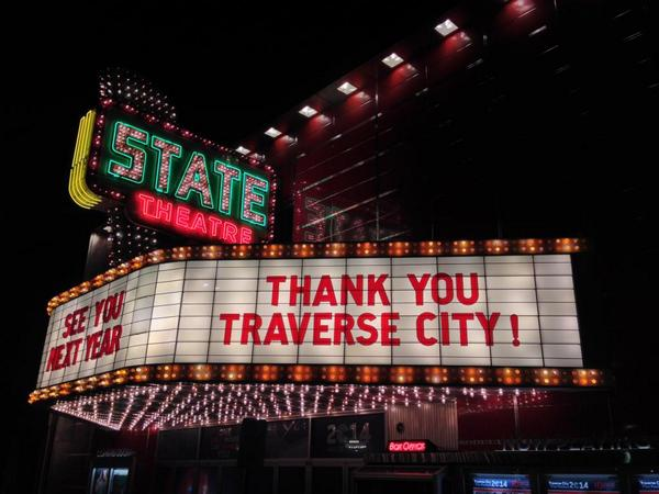 Thank you, Traverse City and to everyone who attended or is part of @TCFF! See you in 2015!! #TCFF #CantWaitForYear11 http://t.co/Lu6zvEOtl7