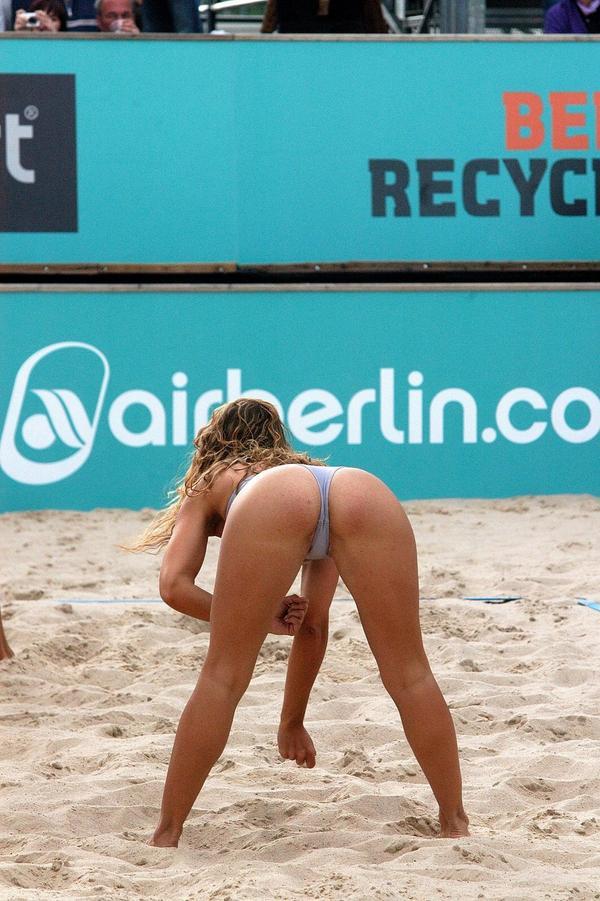 Пляжный волейбол женщины порно фото 342-876