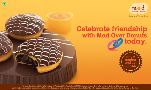 #Contest RT this tweet & stand a chance to win a box of 6 donuts #MODFriendshipOffer T&C http://t.co/dHjOhvffZK http://t.co/JN7ZzSksY4
