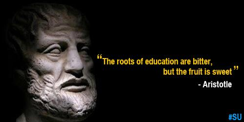 "Aristotle Quotes Image Quotes At Relatably Com: Sharda University On Twitter: ""#Quotes #education"