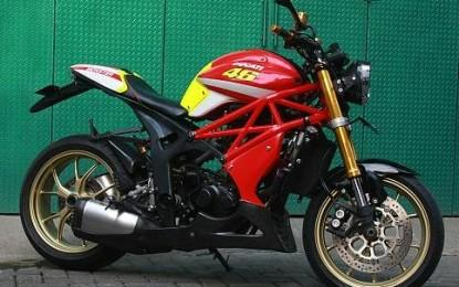 Zonabikers Dot Com On Twitter Modifikasi Honda Tiger Revo 2009 Monster Http T Co Slu7w45bnj