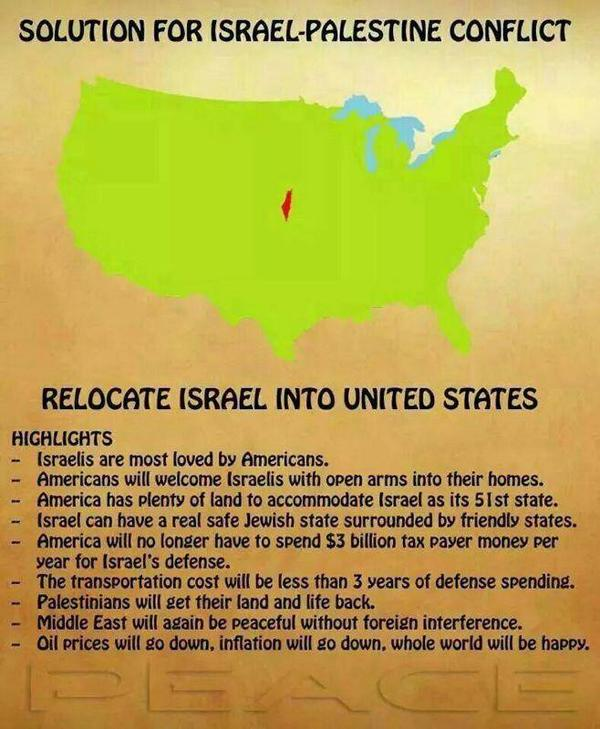 Solution for Israel .. it's a win win for everyone http://t.co/B9bMAxCoV8