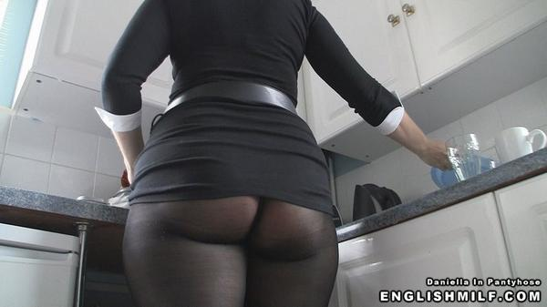 Black english milf