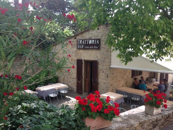 1st day in #Tuscany and already had my dream day, incl outdoor lunch at this trattoria: Grotta della Rana; San Sano. http://t.co/LIncFvhpo3